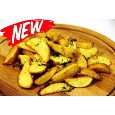 Картофель фри по деревенски